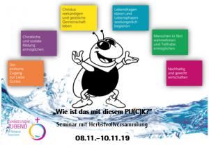 """""""Wie ist das mit diesem PU(C)K?"""" - Herbstkonvent 2019 @ Jugendbildungshaus Wiedhölzlkaser"""