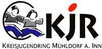 Das Logo des Kreisjugendrings in Mühldorf am Inn.
