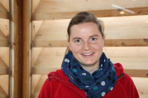 Diakonin Veronika Pummerer in der Evangelischen Kirche zu Siegsdorf