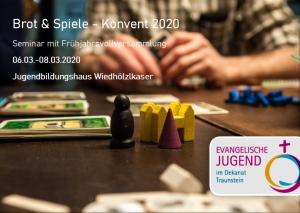 Frühjahrskonvent 2020 @ Jugendbildungshaus Wiedhölzlkaser
